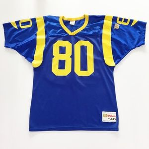 Vintage Bruce Los Angeles Rams Jersey NFL